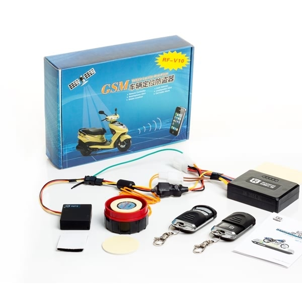 RF-V10 Vehicle Tracker Motorcycles anti-theft system SMS/GPRS GSM Removing Vibration alarm Real time Smart Trakced
