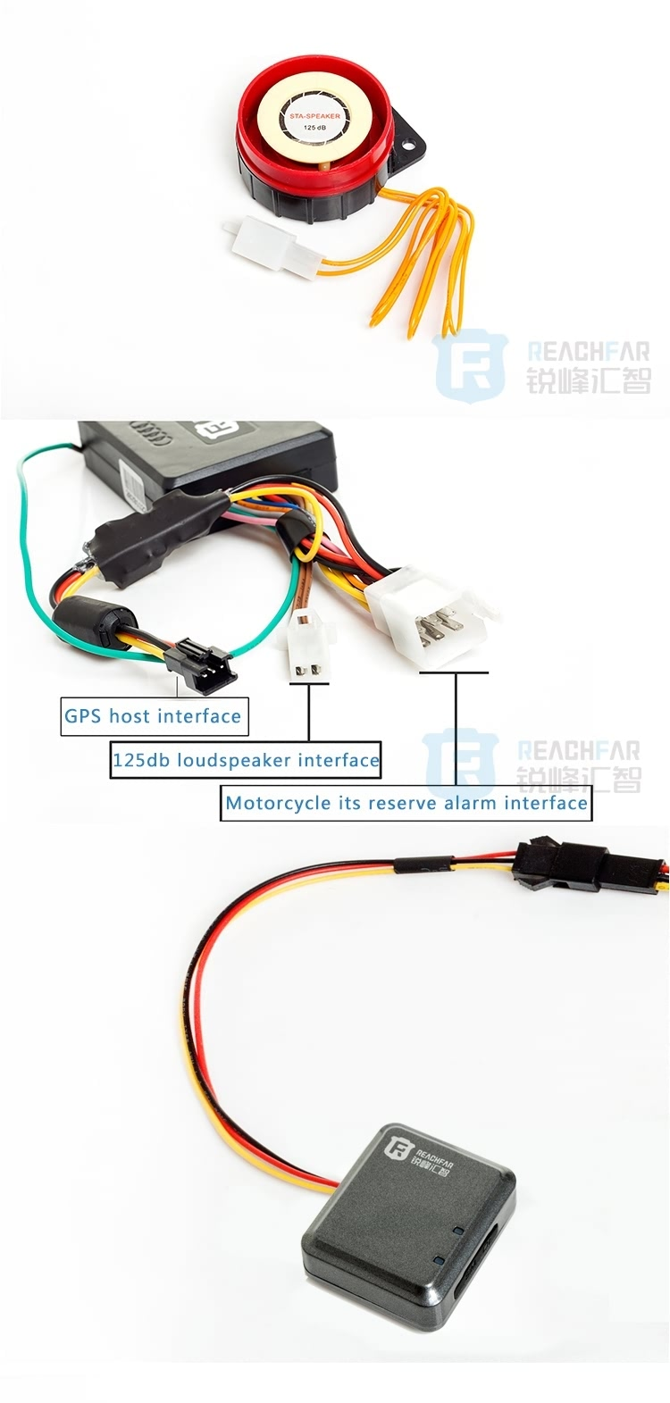 RF-V10+ Super Power-saving Vehicle/Motorcycle GPS Tracker