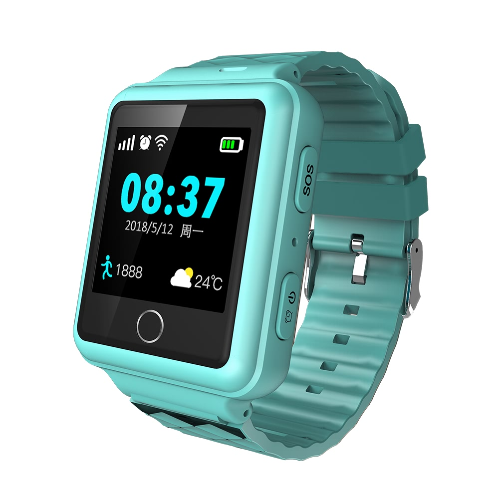 High Quality RF-V38 GSM Sim Card Real Time Tracking SOS Smart GPS Tracker Watch for Kids or elderly